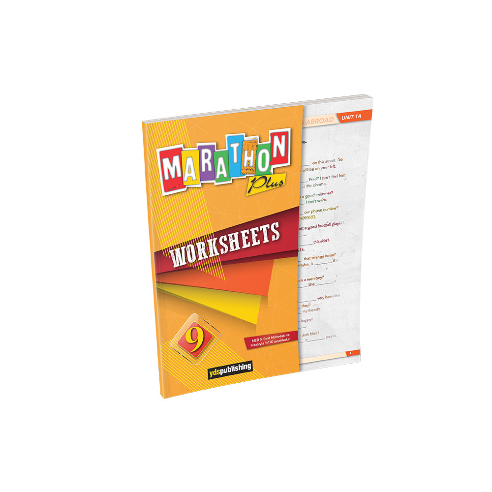 Marathon Plus 9 Worksheets