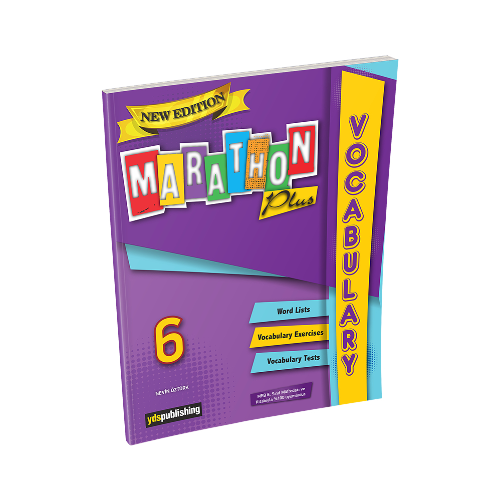 Marathon Plus 6 Vocabulary Book