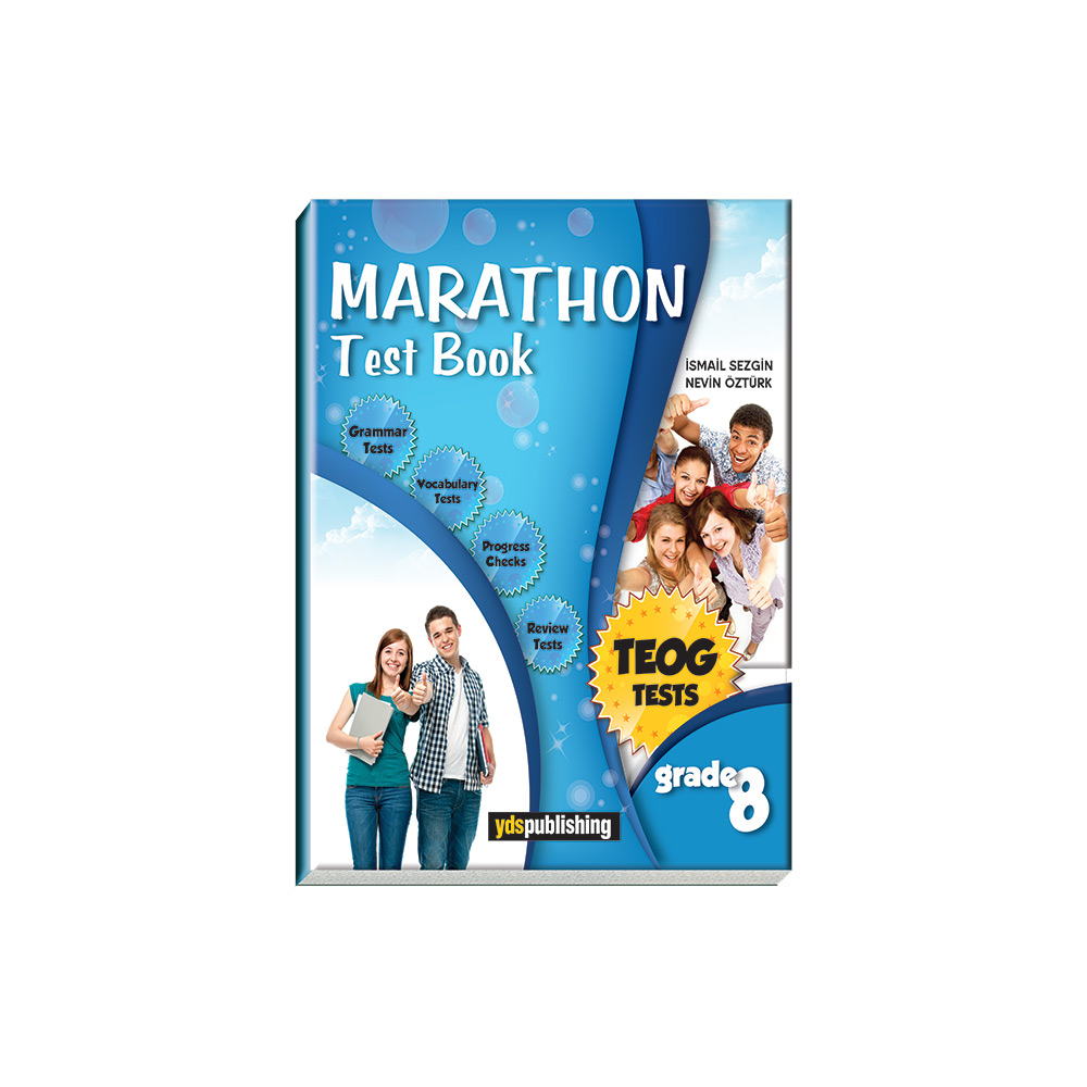 Marathon Grade 8 Test Book