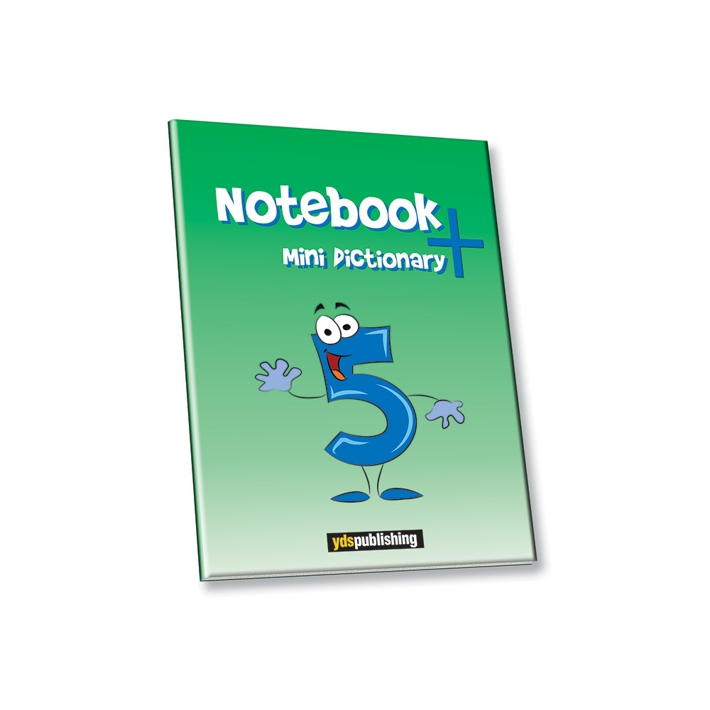 Grade 5 Notebook + Mini Dictionary